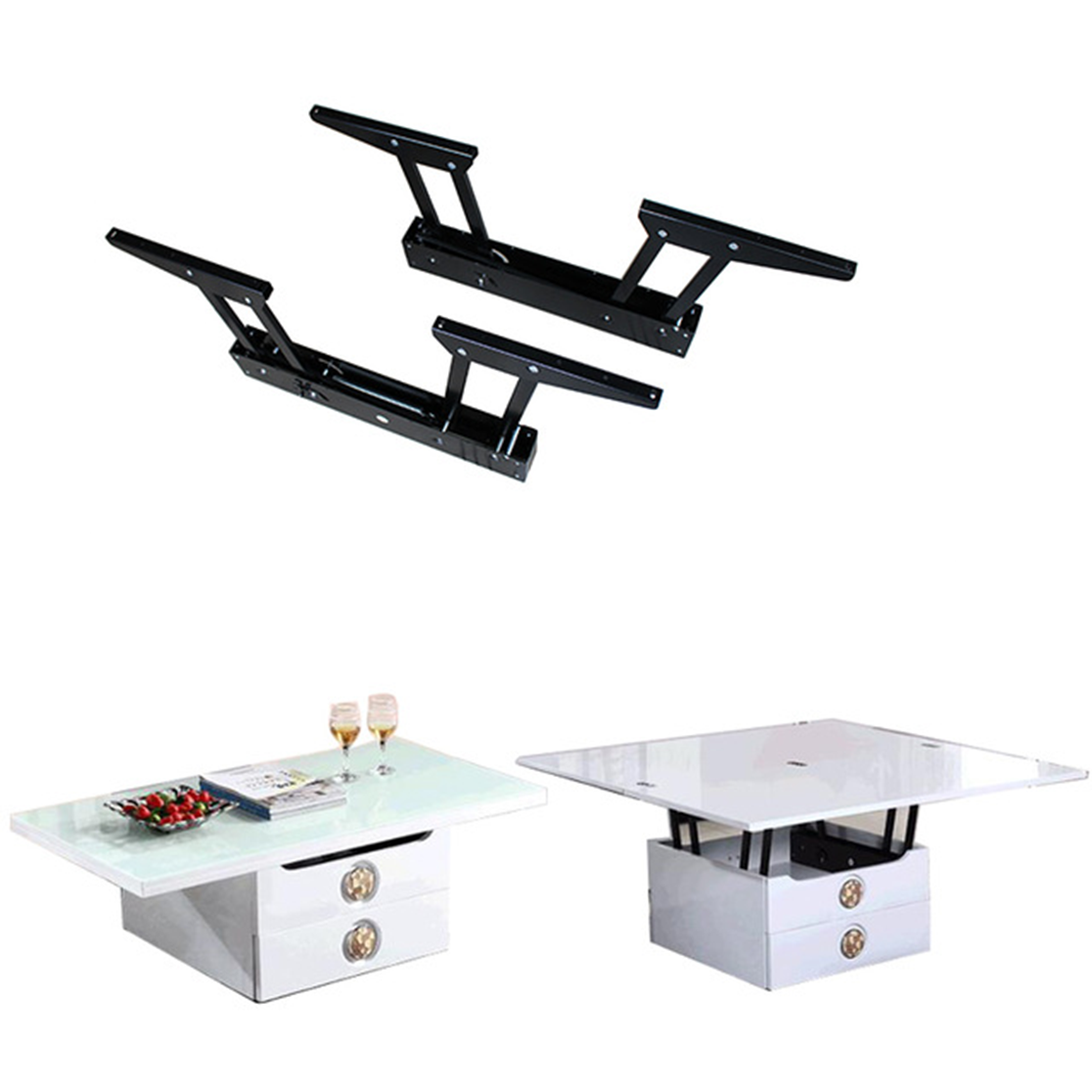 Paire mécanisme table relevable gm