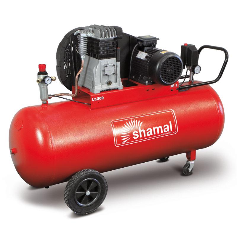 Compresseur 200l 380v ct3 shamal